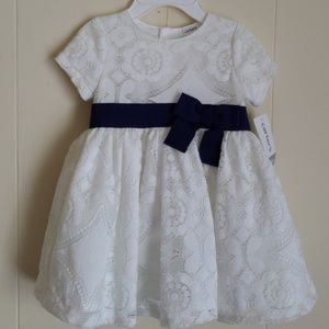 NEW CARTERS DRESS SIZE 6M